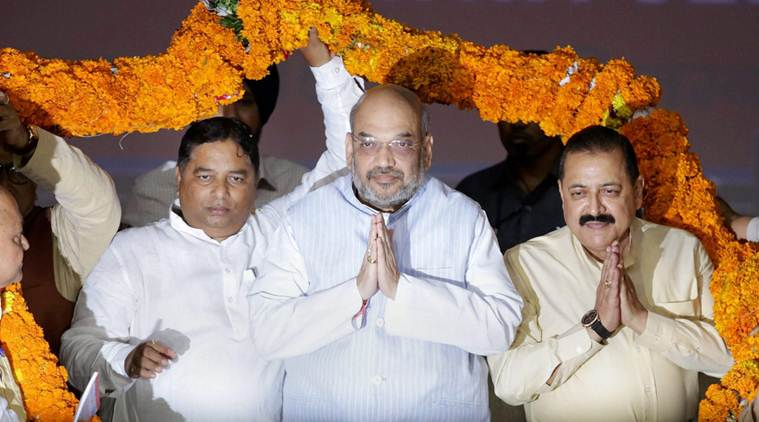 In J&K, Amit Shah to BJP ministers: Visit Kashmir Valley, reach out