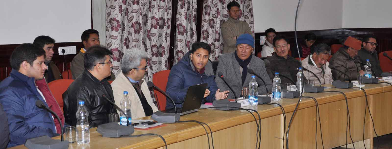 Chering Dorjay for making Leh fully organic certified district