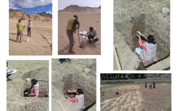 For Livelihood Security of Ladhak people – Scientists of ICAR-NBSS&LUP, New Delhi carried detailed land resource inventory and soil survey of leh block
